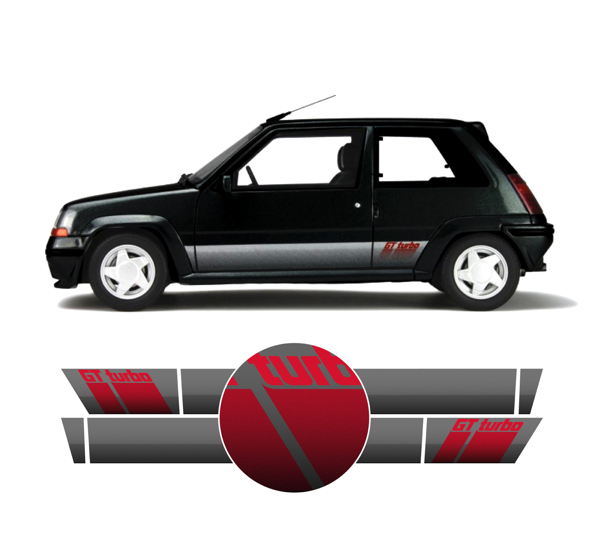 Renault 5 Turbo: RENAULT 5 GT TURBO (Phase 2)