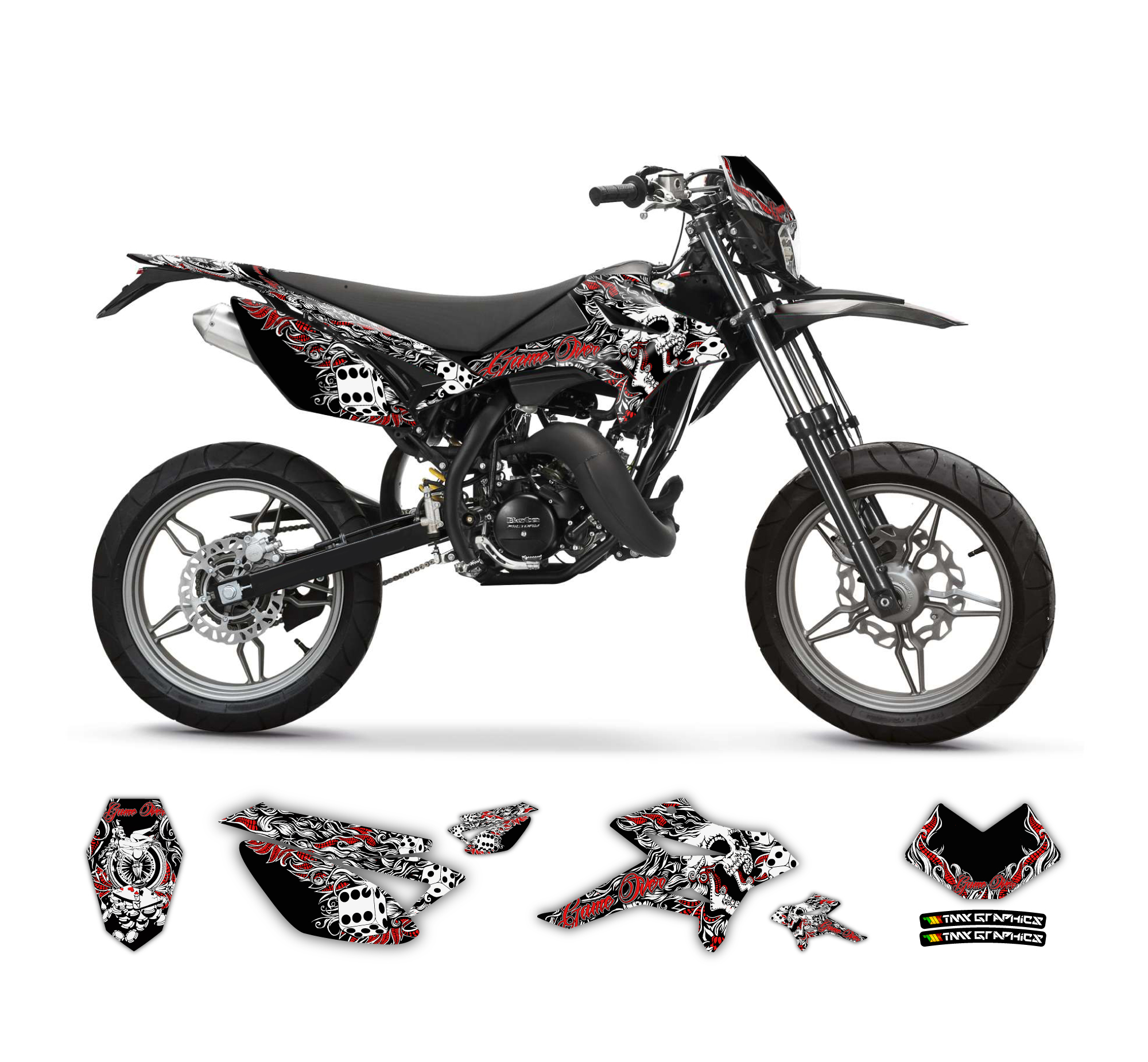 beta rr 50   game over graphics series tmx graphics